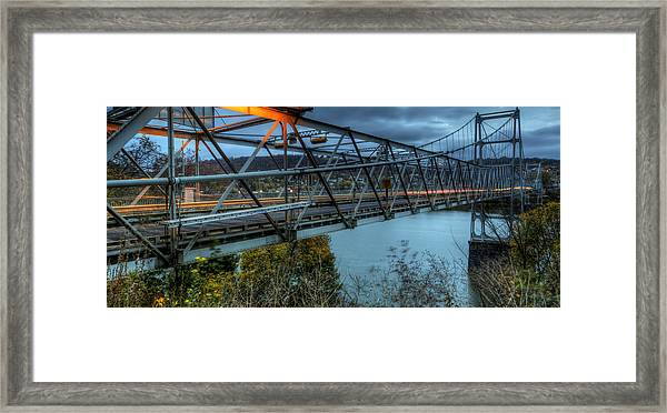 The Newell Bridge Framed Print