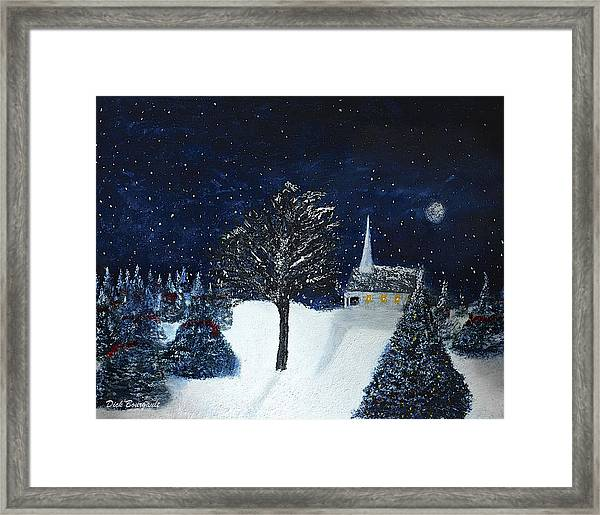 The Night Before Christmas Framed Print