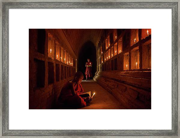The Novices Framed Print by Amnon Eichelberg