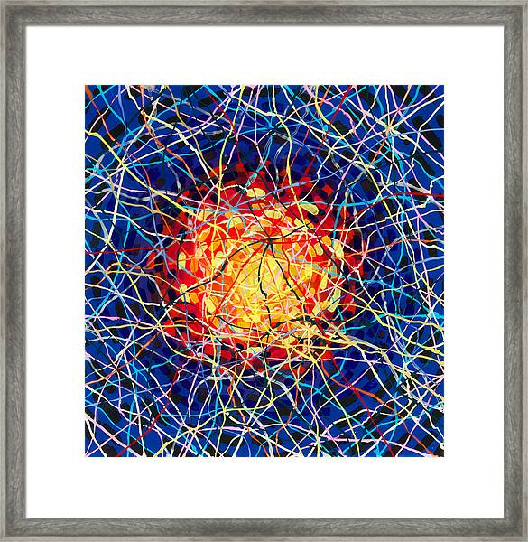 The Nucleus Framed Print by Patrick OLeary