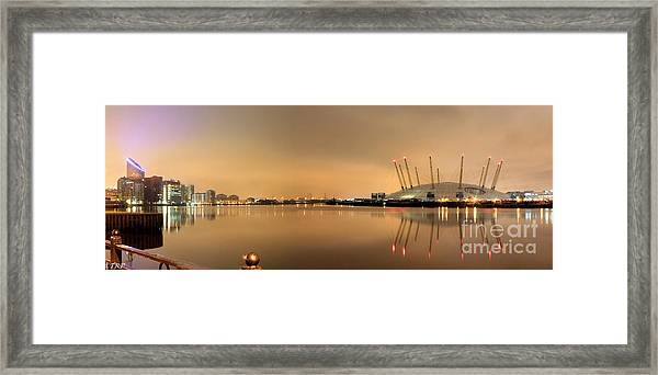 The O2 Arena Framed Print by Size X