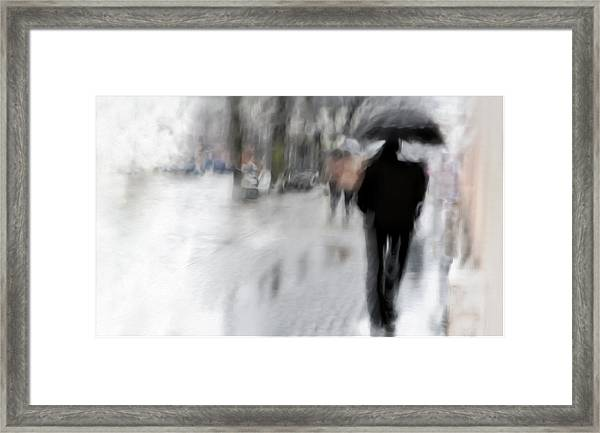 The Observer Framed Print by Gilbert Claes