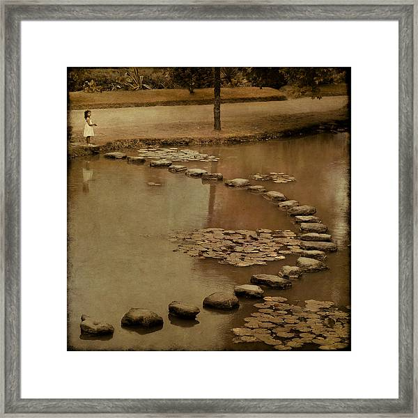 The Obstacle Is The Path Framed Print