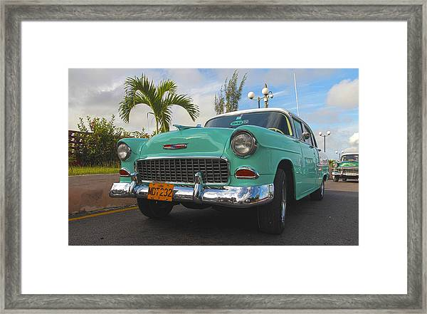 The Old Chevy Still Young Framed Print