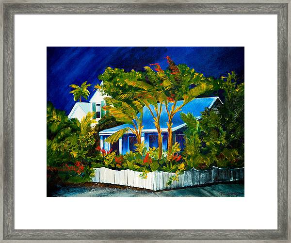 The Old Conch House Framed Print