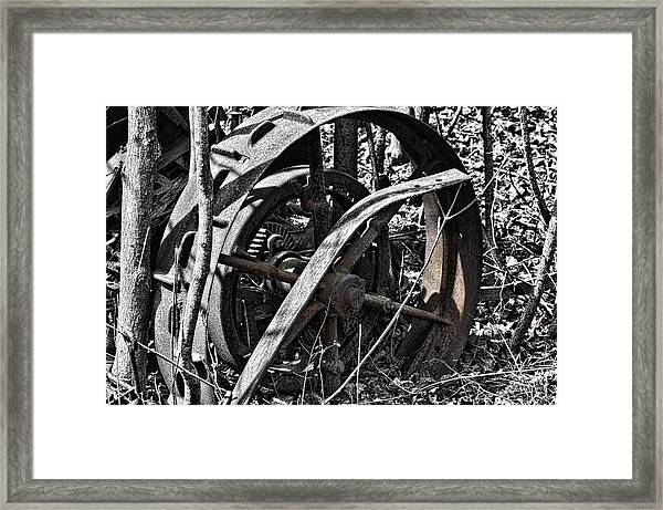 Framed Print featuring the photograph The Old Days by David Armstrong