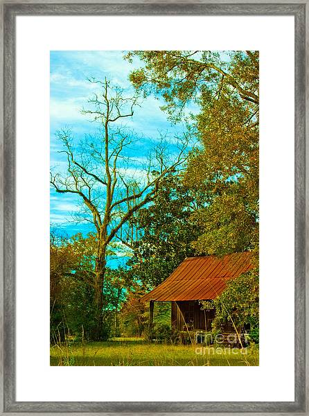The Old Homestead 2 Framed Print