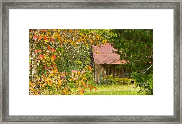 The Old Homestead 3 Framed Print