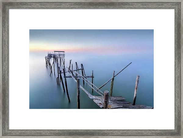The Old Pier Framed Print