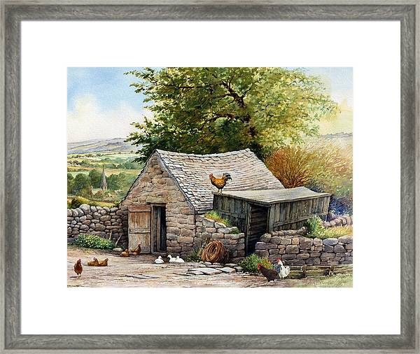 The Old Poultry House Framed Print