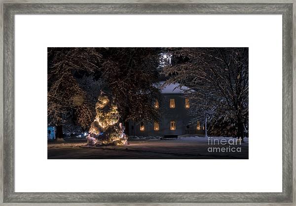 The Old Round Church Richmond Vermont Framed Print