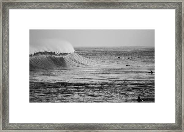 The One That Got Away Framed Print