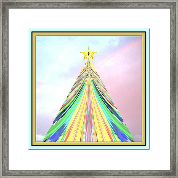 The One Under The Star Framed Print