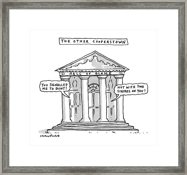 The Other Cooperstown Framed Print