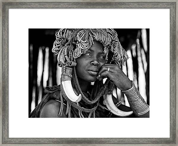 The Other Side Of Fashion Framed Print