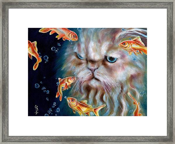 The Other Side Of Midnight Framed Print