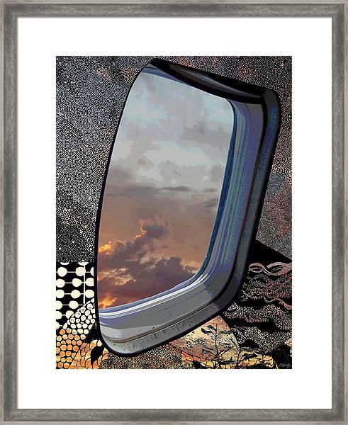 The Other Side Of Natural Framed Print