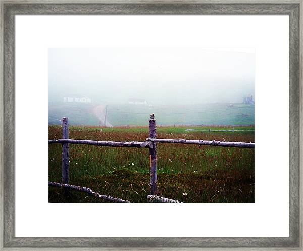 The Other Side Of The Field Framed Print
