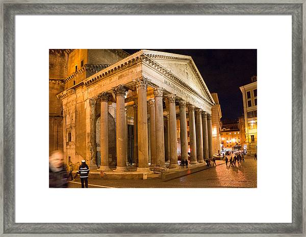 The Pantheon Framed Print