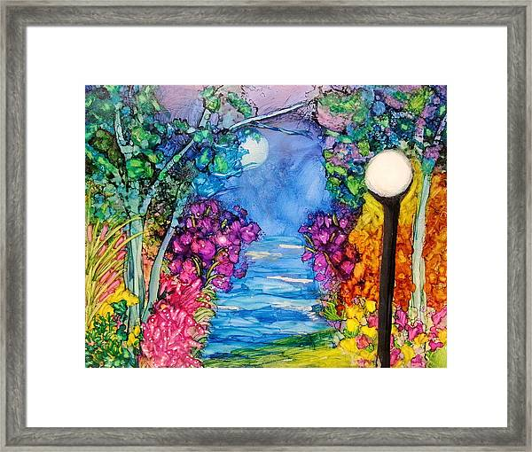 The Park Framed Print