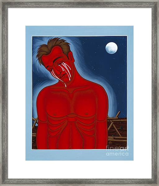 The Passion Of Matthew Shepard 096 Framed Print
