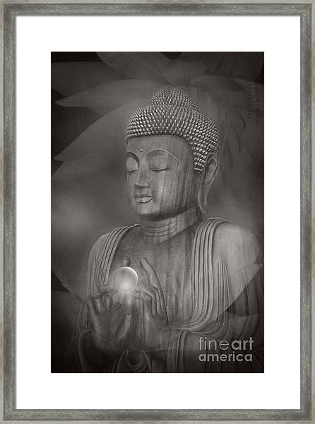 The Path Of Peace Framed Print