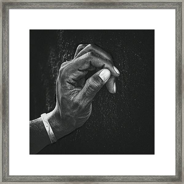 The Patient Husband Framed Print by Piet Flour