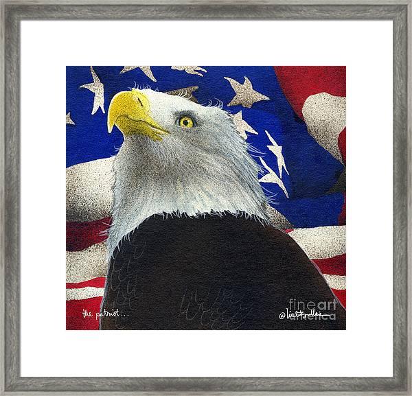 The Patriot... Framed Print by Will Bullas