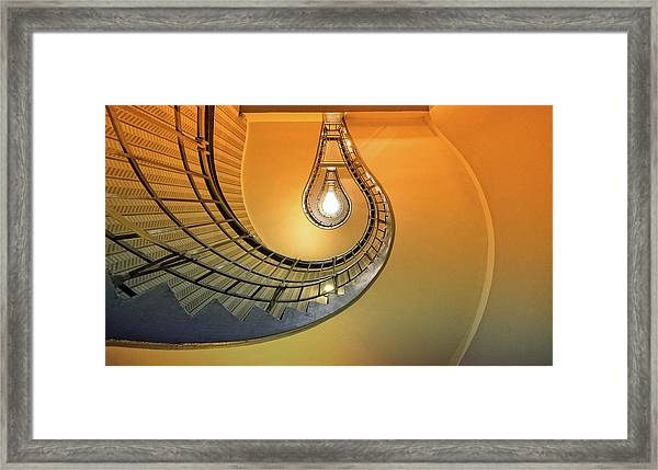 The Pear Framed Print by Anette Ohlendorf