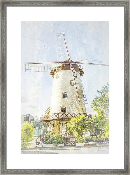 The Penny Royal Windmill Framed Print