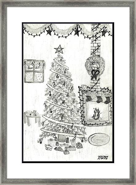 The Perfect Christmas Framed Print