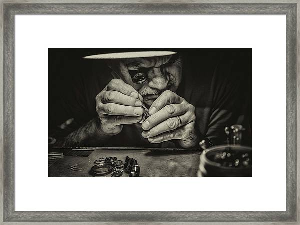 The Perfectionist Framed Print by Mandru Cantemir