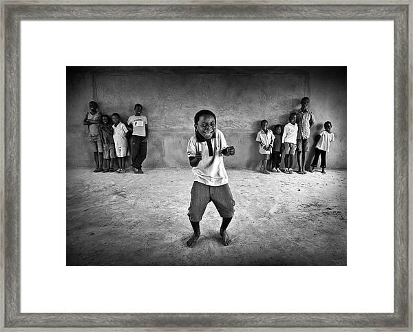 The Performer Framed Print