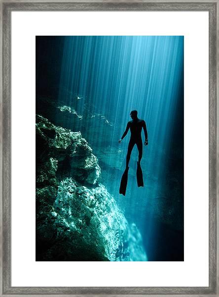 The Phantom Framed Print by One ocean One breath