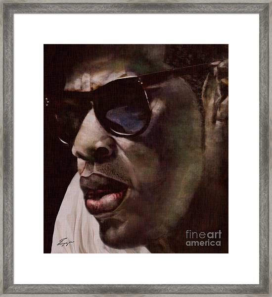 The Pied Piper Of Intrigue - Jay Z Framed Print