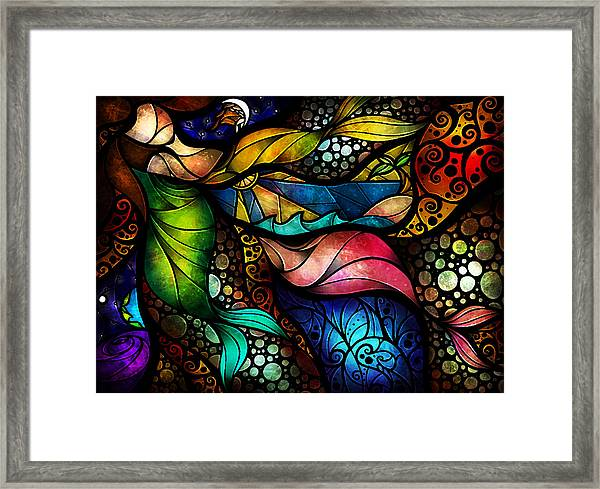 The Place Between Sleep And Awake Framed Print