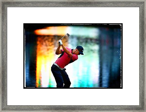 The Players Championship - Alternative Views Framed Print by Richard Heathcote