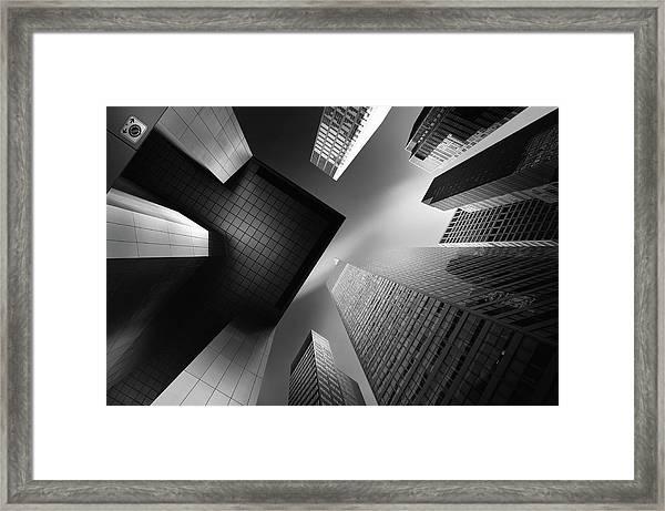 The Portal For Pillar Agmina Mk.ii Framed Print