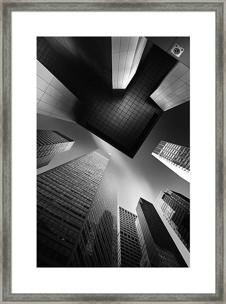The Portal For Pillar Agmina Mk.iv Framed Print
