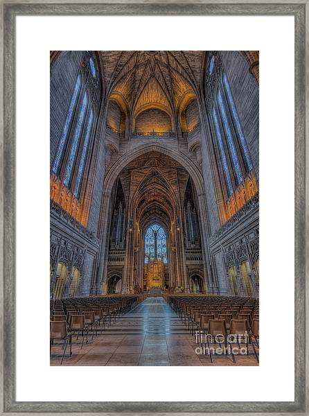 The Power Of Peace Framed Print