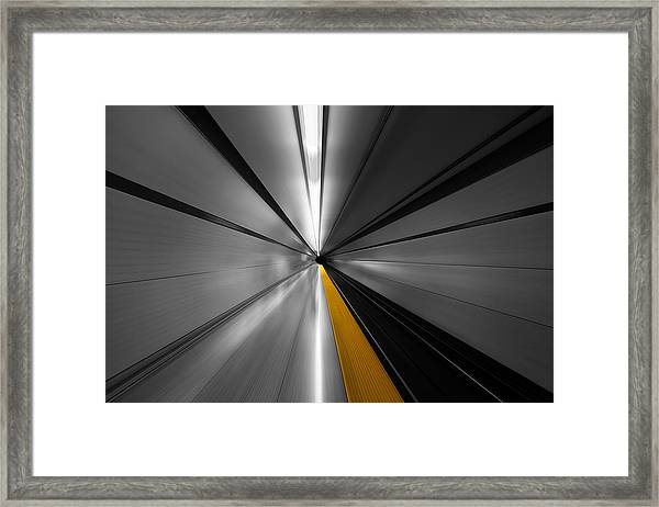 The Power Of Speed Framed Print