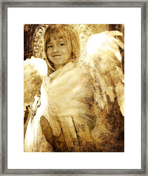 The Presence Of Angels Framed Print