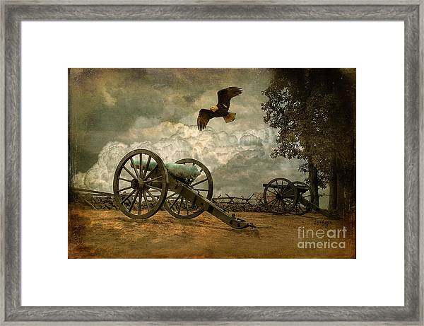 Framed Print featuring the photograph The Price Of Freedom by Lois Bryan