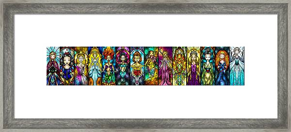 The Princesses Framed Print
