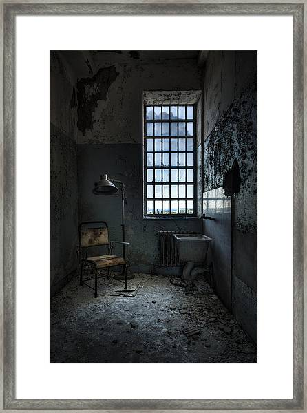 The Private Room - Abandoned Asylum Framed Print