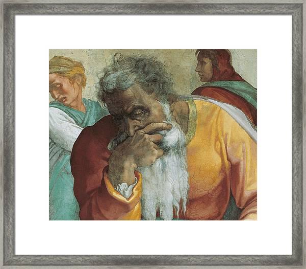 The Prophet Jeremiah Framed Print