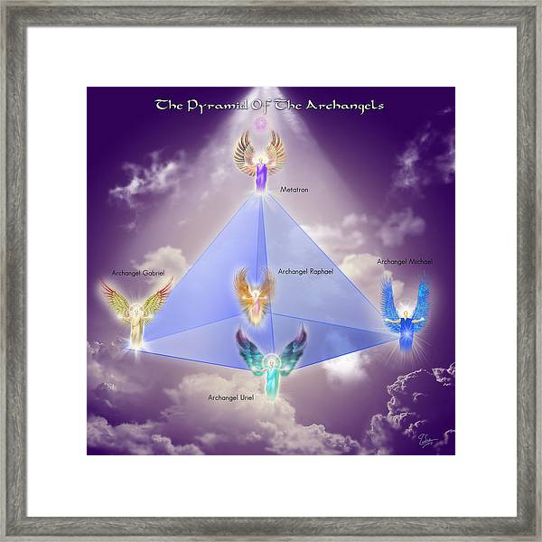 The Pyramid Of The Archangels Framed Print