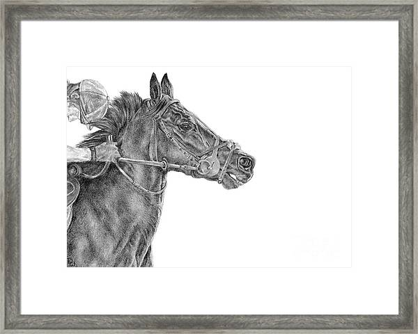 The Racing Game Framed Print