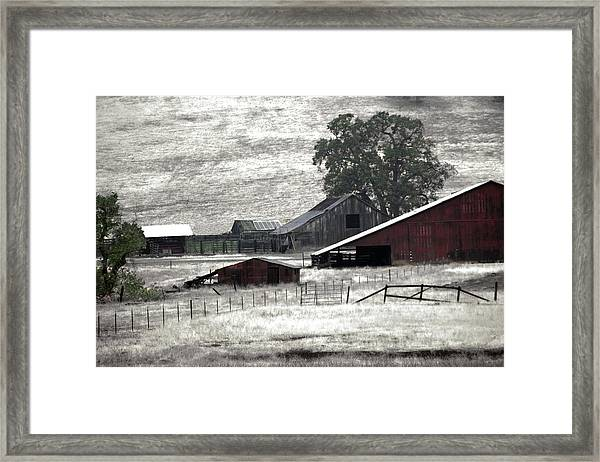 The Ranch View Framed Print