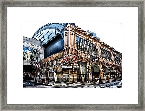 The Reading Terminal Market Framed Print